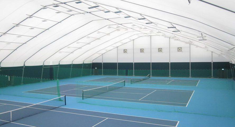 چادرهای سالن ورزشی